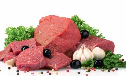 Калорийность мяса, субпродуктов, птицы