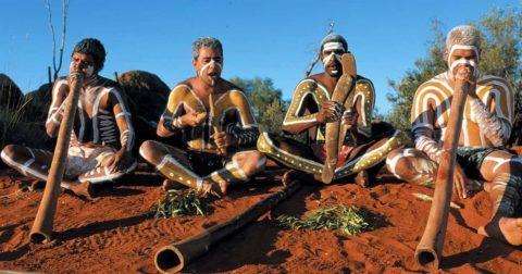 Церемония инициации аборигенов Австралии — смерть и воскресение
