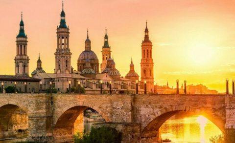 Древний город Испании Сарагоса