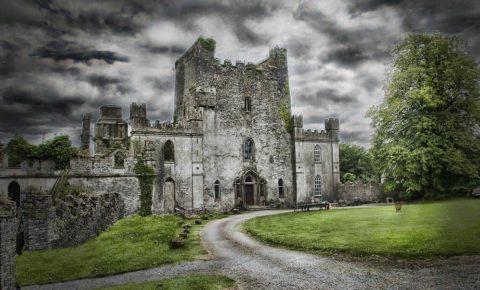 Ирландский Замок Лип: одно из самых жутких мест в мире
