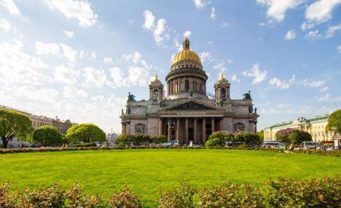 Исаакиевский собор. Исаакиевская площадь, Санкт-Петербург