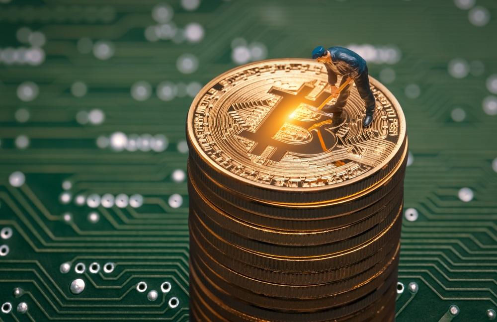 Фото Как происходит добыча биткоинов