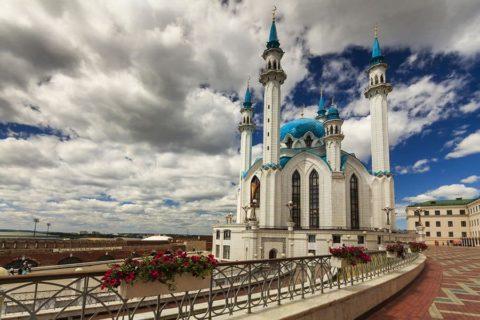 Казанский кремль и мечеть Кул-Шариф Республика Татарстан, Казань