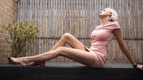 Самые длинные женские ноги в мире