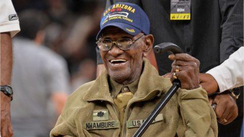 Старейший американский ветеран Второй мировой