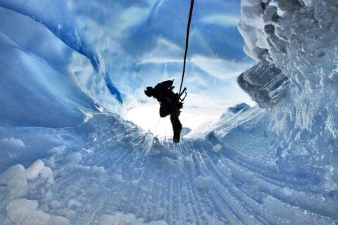 Мулены: водосточные колодцы ледников