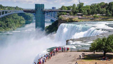 Ниагарский водопад,США-Канада