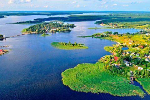 Озеро Селигер, Тверская и Новгородская области
