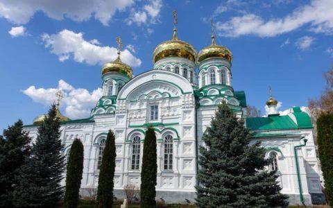 Раифский Богородицкий монастырь Зеленодольский р-н, республика Татарстан