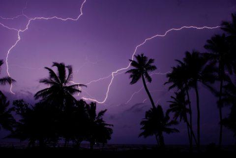 Самое большое скопление молний на всей планете. Молнии Кататумбо