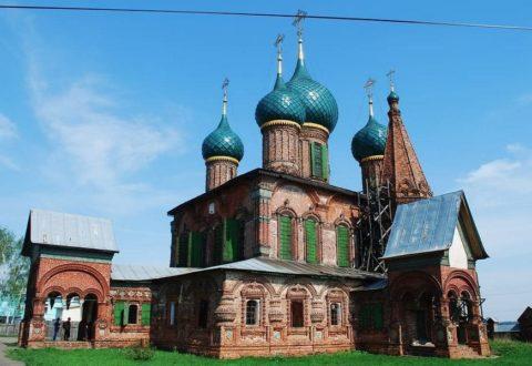 Церковь Иоанна Златоуста в Коровниках