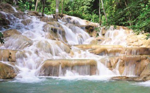 Водопады Данс Ривер