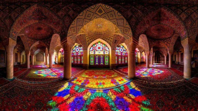 Вы слыхали про Розовую мечеть в Иране?